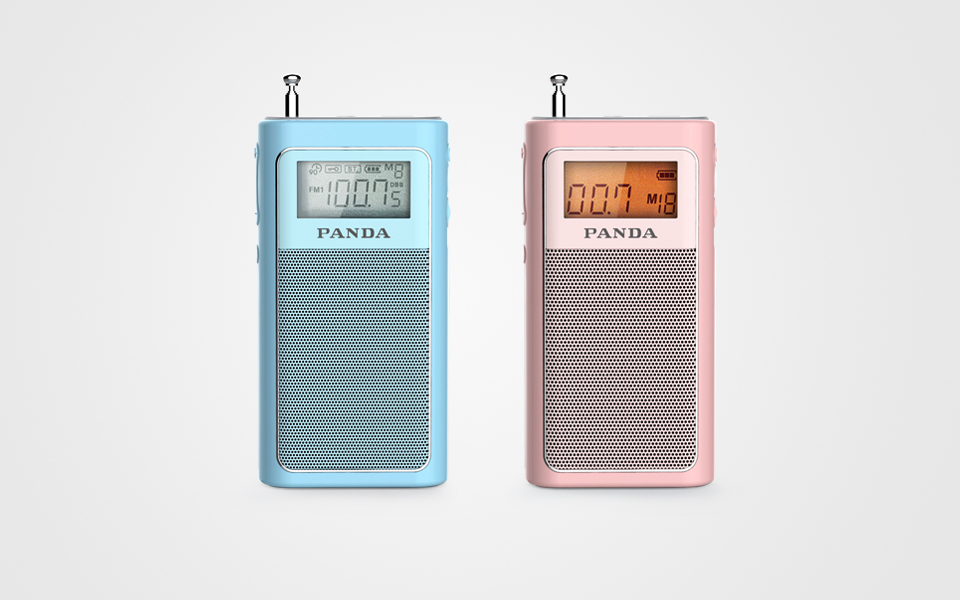 熊猫 袖珍收音机 6200